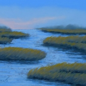 Summer Light on the Marsh No. 1